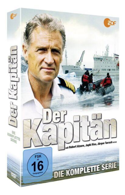 Der Kapitän - Die komplette Serie (5 DVDs) *NEU* DVD Alle 9 Folgen Staffel 1+2+3
