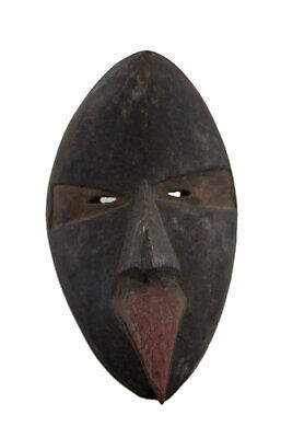 Masquette Mask Diminutive African Dan in Bec Mahou Gabon 14cm Art First 16830