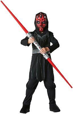 Jungen Darth Maul Sith Lord Star Wars Film Kostüm Kleid Outfit 3-14 Jahre