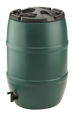 120 Litre Ward Green Plastic Water Butt Including Lockable Lid And Tap