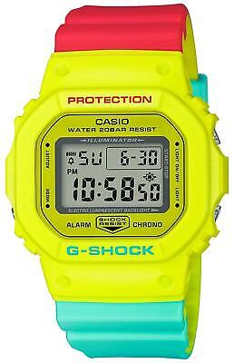 BRAND NEW DW-5600CMA-9D CASIO G-Shock Breezy Rasta Reggae Men's watch