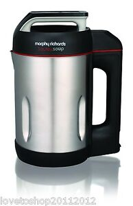 morphy richards soup maker instructions