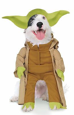 Yoda Frontal Dog Costume - XL - STAR WARS - Walking w/ Plush Arms - Rubie's - Dog Costumes Yoda