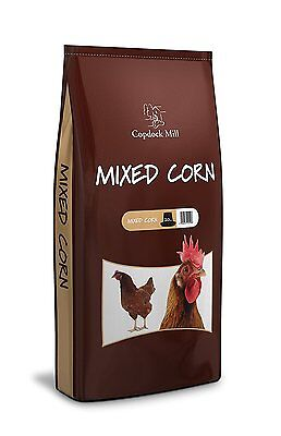 Copdock Mill Mixed Poultry Corn Food Seed For Chickens Hens Duck Goose 20kg