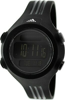 Adidas Women's Questra ADP6086 Black Silicone Quartz Watch