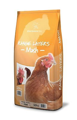 Copdock Mill Range Layers Mash 20kg Poultry Feed