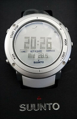 Suunto Core All White Wrist Watch SS018735000 - Retail $429 ( 50% off)
