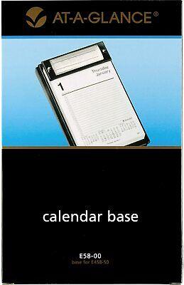 At-a-glance Desk Calendar Base Pad Style 5 X 8 Refillable Black E5800
