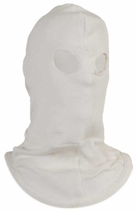 National Safety Apparel H41NK High Heat Knit Hood with Eyeholes in Nomex