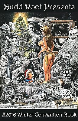 CAVEWOMAN CONVENTION BOOK - 2016 WINTER - MATURE- SIGNED BY BUDD ROOT!