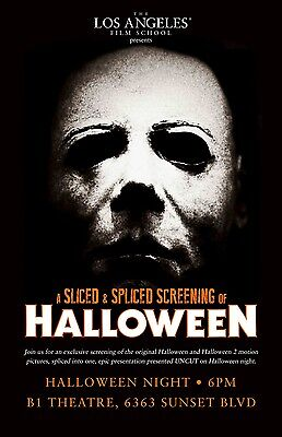 HALLOWEEN movie poster print  : 11 x 17 inches MICHAEL MYERS (style C)
