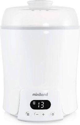 Miniland Baby Super 6 Calienta hasta 6 biberones esteriliza biberones y potitos