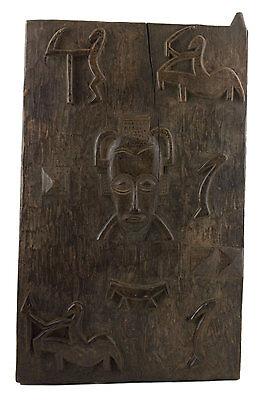 Porte of Attic Senoufo 63x37.5 cm Art Africa-Africa Western Dogon 16510