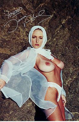 Danielle Ashe Originalautogramm auf Großfoto - Pornostar