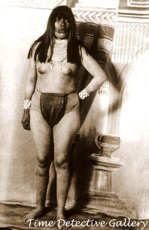 Native American Female Two-Spirit, Quechan Khwerhame - Historic Photo Print