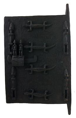 Door Dogon Attic Mali 63x38 cm Flap Art African West Africa 16522 Hg 1