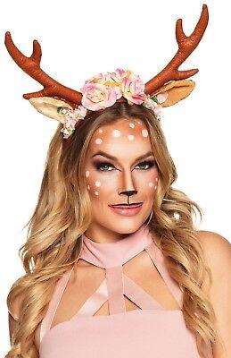 Damen Rentier Tiara Stirnband Weihnachten Festlich Kostüm Verkleidung - Festliche Rentier Kostüm