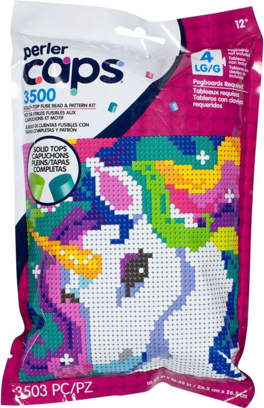 Perler Cap Pattern Bag-Unicorn