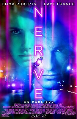 Nerve  C  13 5X20 Promo Movie Poster
