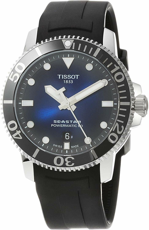 *BRAND NEW* Tissot Men's Seastar 1000 Automatic Blue Dial T1