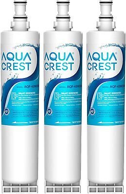 [3 PACK] AQUACREST 4396508 Refrigerator Water Filter Fit with Whirlpool