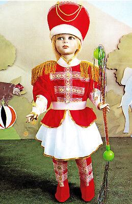Kostüm von Karneval Mädchen Pegasus Majorette 2/4 Alter