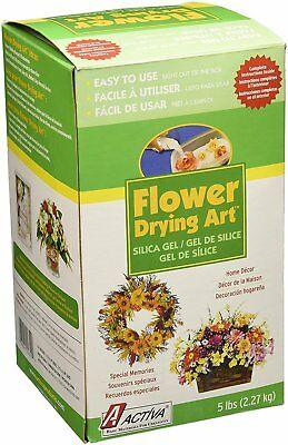 - Activa. Silica Gel for Flower Drying 5 Pound