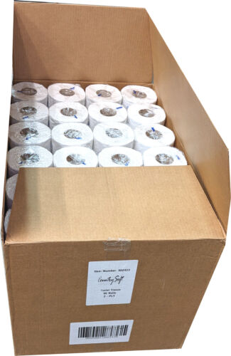 Country Soft Toilet Paper 96 Rolls Box