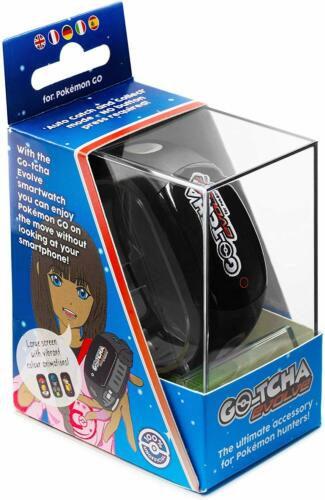GOtcha Go-tcha Evolve BLACK LED Touch Screen Wristband Pokemon Go Plus Accessory