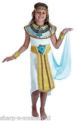 Mädchen Ägyptische Kleopatra Mumie Historisch Buch Tag Kostüm Verkleidung Outfit