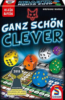 Schmidt Spiele 49340 Ganz Schön Clever Würfelspiel Familienspiel Klein & Fein (Glücksspiele)