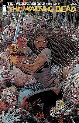 The Walking Dead #157 Arthur Adams Cover B The Whisperer War 1 Michonne