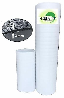 Smartshield -3w White Reflective Insulation Roll Foam Core Radiant Barrier 3mm