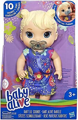Baby Alive Baby Lil Sounds Interactive Baby Doll