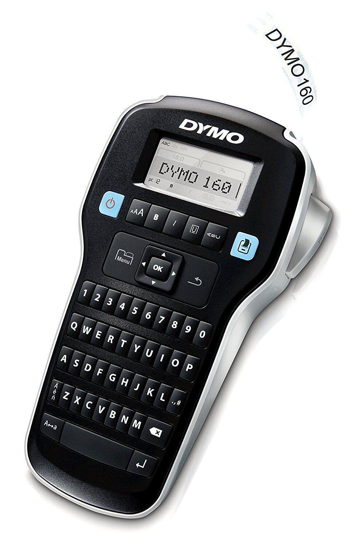 Etichettatrice Portatile DYMO LabelManager 160 + Cartuccia Nastro da 12 mm x 3 m