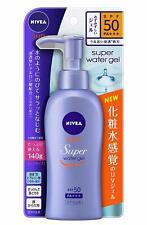 ☀Nivea Sun Protect Water Gel SPF 50/PA +++ Pump 140g Import Japan F/S