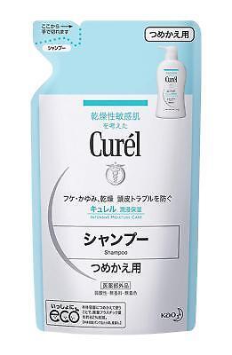 Curel Intensive Moisturizing Shampoo Refill 360ml For Dry Sensitive Skin Japan (Dry Skin Moisturizing Shampoo)