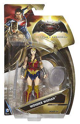 """DC Comics BATMAN v SUPERMAN 6"""" WONDER WOMAN MATTEL"""