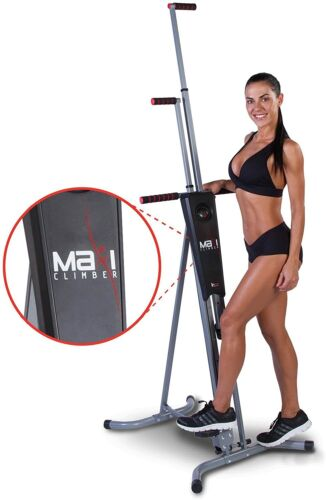 MaxiClimber(r) - The Original Patented Vertical Climber - Full Body Workout