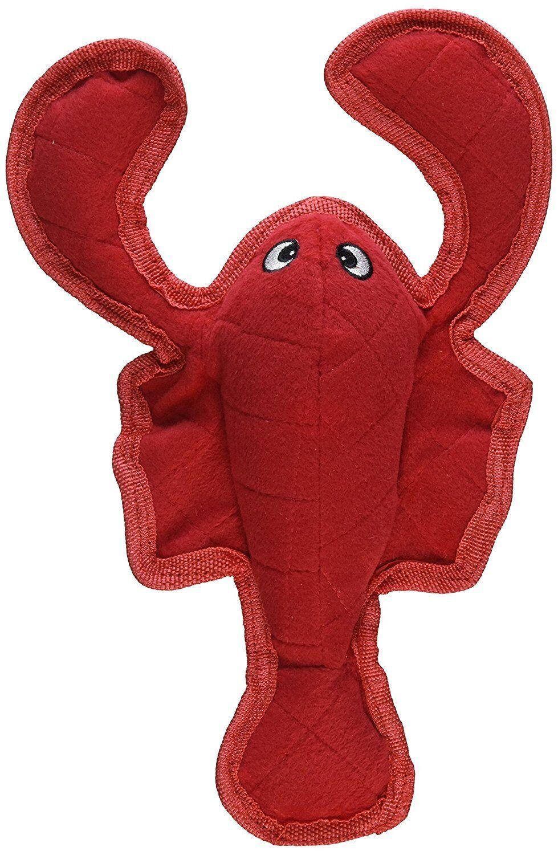 Bite Me Lobster - Plush Pet Toy - Heavy Duty Construction fo