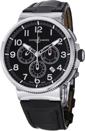Ulysse Nardin Marine Chronograph 43mm New With Tags and Box. Model 1503-150. - watch picture 1