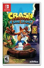 Activision Crash Bandicoot N. Sane Trilogy-Bilingual-Nintendo Switch Games and