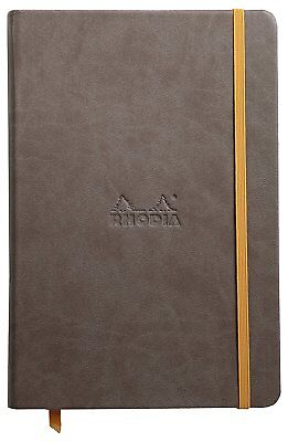 Rhodia Rhodiarama Webbies - Notebook - Chocolate - Lined - A5 - 5.5 X 8.25 New