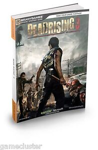 DEAD RISING 3 OFFICIAL BRADYGAMES GAME STRATEGY GUIDE BRAND NEW BOOK 255 PAGES