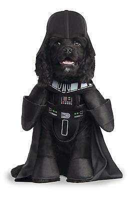 Darth Vader Frontal Dog Costume - LARGE - STAR WARS - Plush Arms - Rubie's - NWT](Dog Darth Vader Costume)