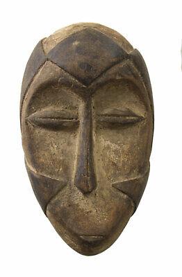 Mask Passport African Galoa Gabon Wood 14.5cm Galwa Art First 16690