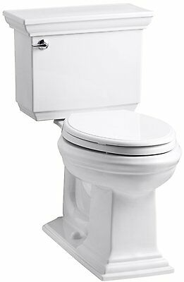 KOHLER K-3817-0 Memoirs Stately Comfort Height Two-Piece Elongated 1.28 GPF with