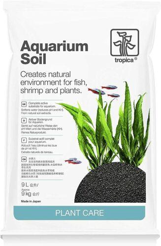 Tropica Plant Care Freshwater Planted Aquarium Soil 9 Liter Bag