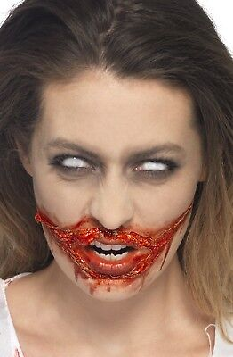 Halloween falsch Blood & flüssig Latex Satz Spezial FX Make-up Zombie Kostüm