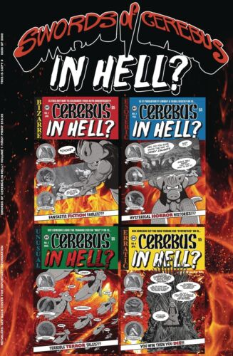 SWORDS OF CEREBUS: IN HELL? Volume 1 Graphic Novel